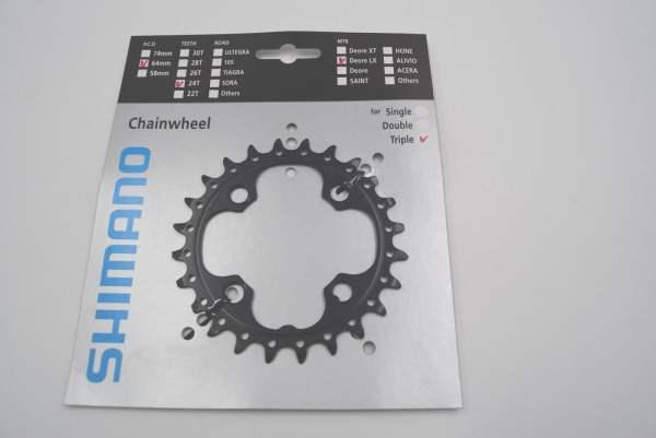 Shimano Kettenblatt für FC-M660-10 Triple 10fach 24 Zähne