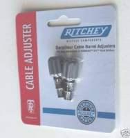 2 Ritchey Zugeinstellschrauben für Shimano STI Griffe