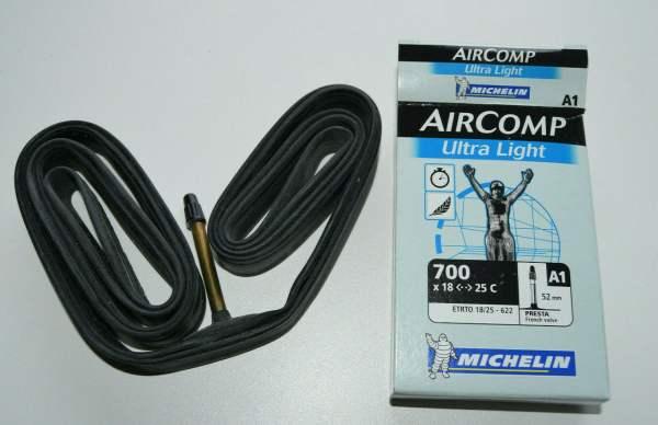 """Michelin A1 Aircomp Ultralight 28"""" Schlauch 18/23-622 SV"""