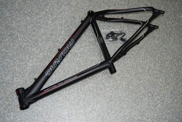Müsing Offroad Pro Rohloff Rahmen 40cm 1517g schwarz anodisiert