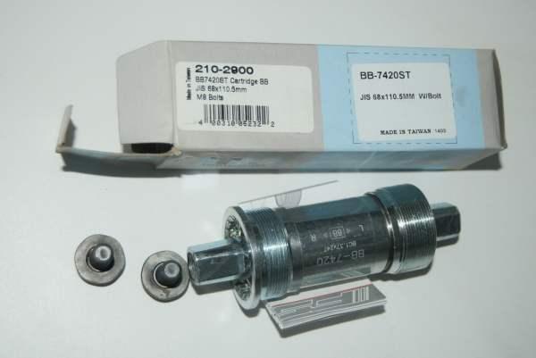 FSA RPM BB-7420ST JIS Vierkant Innenlager 110,5mm 68mm BSA