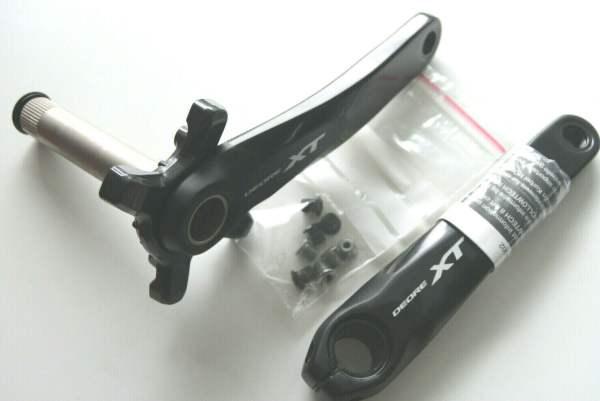 Shimano XT Kurbelarme für 2 x 11 ohne Kettenblätter MTB FC-M8000-2 175mm