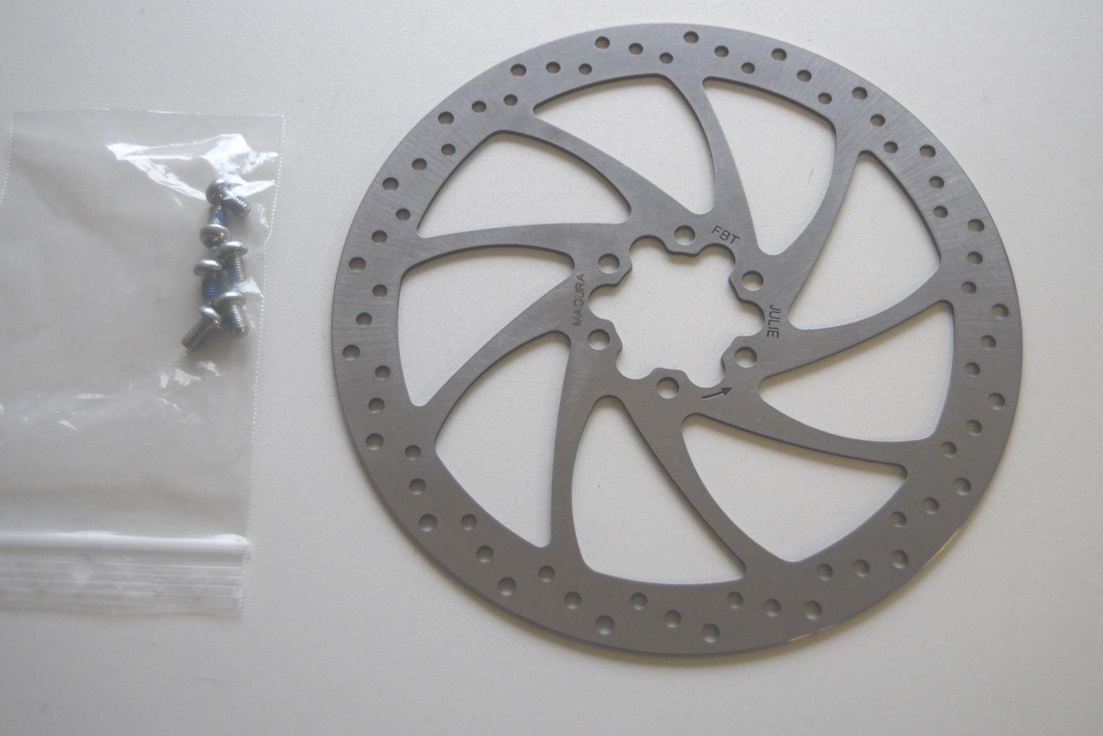 NEU Magura QM-6 PM6-180 Bremsscheiben Adapter mit Schrauben brake disc