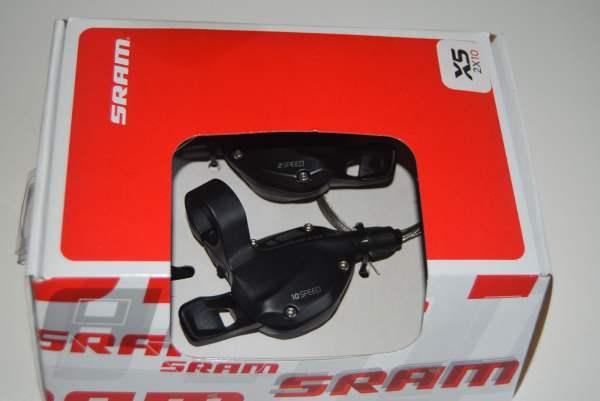 Sram 1 Paar Sram X5 Trigger Schaltgriffe 2x10 fach OVP