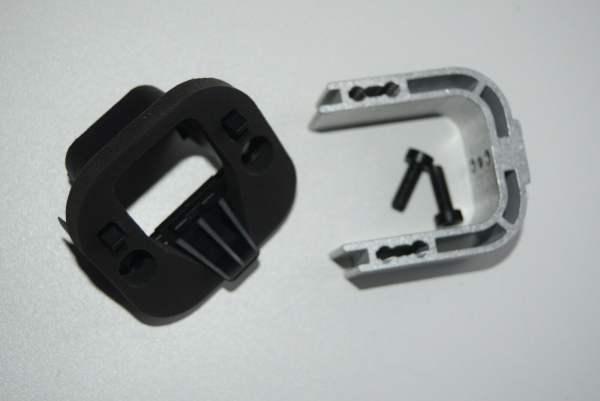 Bosch Montagekit PowerTube kabelseitig, zur vertikalen und horizontalen Montage,
