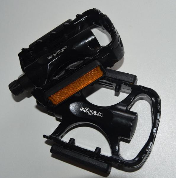 Wellgo Alu Pedale LU-C29 schwarz