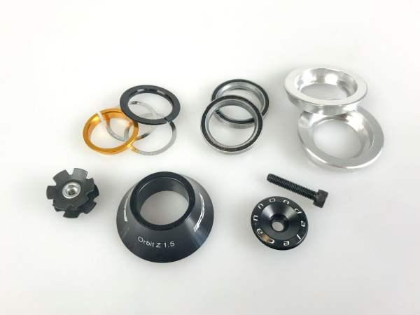 """FSA Orbit Z 1.5"""" auf 1-1/8"""" Reduzier Steuersatz Spacer 20mm"""