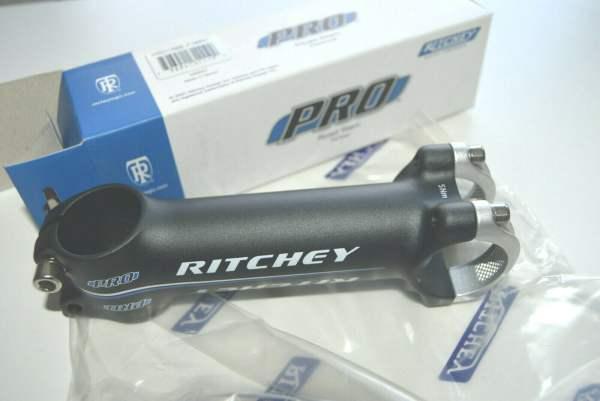 Ritchey Pro Vorbau Oversize 120mm 6° BB black Logo blau