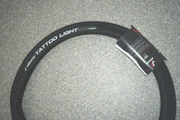 Vittoria Tattoo light Reifen 26x2,30 58-559 schwarz