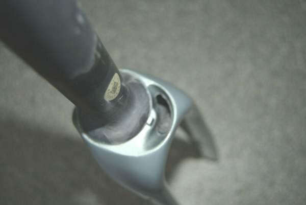 Cannondale SuperSix Neo premium Disc Full-Carbon Gabel Pedelec E-Bike rearl