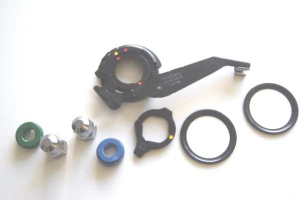 Shimano Schalteinheit Alfine 8-Gang SG-S7000 Standard-Ausfallende 8R/8L CJ-S7000-8 ohne Sprengring