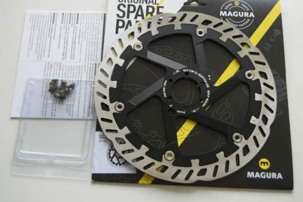 MAGURA MDR-P 220mm 6-loch Bremsscheibe für E-bike