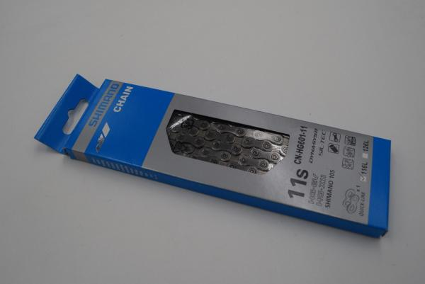 Shimano CN-HG601 Kette, SLX, Dura Ace, CN-HG601-11, HG-X11, 11-fach, 116L