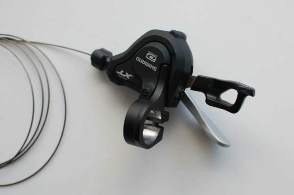 Shimano XT Rapidfire Plus Schalthebel SL-M780 10fach rechte Seite ohne Fenster
