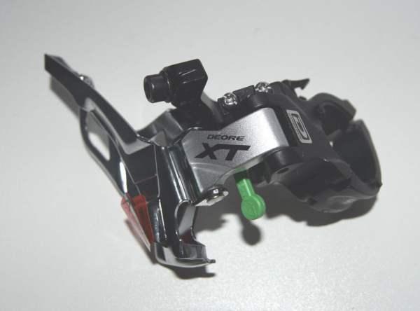 Shimano XT Umwerfer FD-M781A MTB Dynasys 3x10-fach Top Pull sw-silber