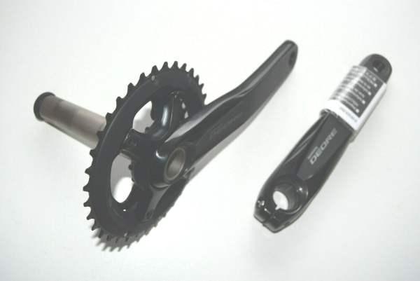 Shimano Deore Kurbelgarnitur MTB FC-M6000 2x11 36-26 Z 175mm