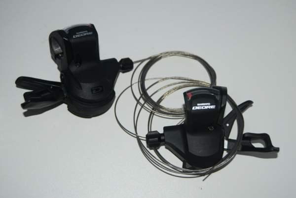 Shimano Deore SL-M610 Rapidfire Plus Schalthebelpaar 2/3 x 10-fach