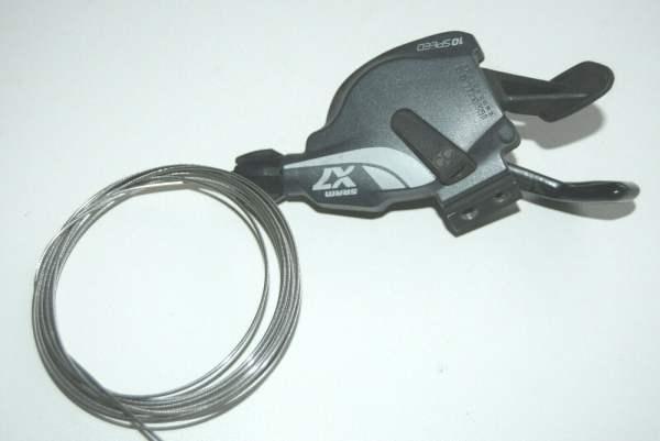 Sram X7 Trigger Schaltgriff 10-fach rechts ohne Schelle