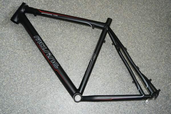 Müsing Offroad TPR Rahmen 52cm schwarz anodisiert
