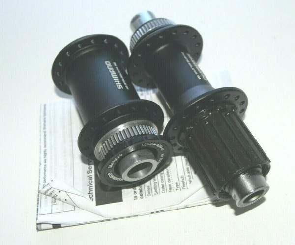 Shimano Deore XT Nabensatz 142x12mm + 100x15mm Steckachse FH-M788/HB-M788