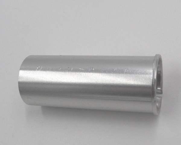 Sattelstütze Reduzierstück 27,2mm auf 31,6mm silber