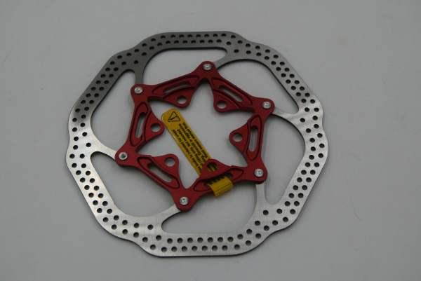 Avid HSX Bremsscheibe rot 140 mm 6-Loch ohne Lockring
