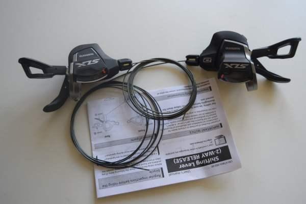 Shimano Shimano SLX Schalthebelset SL-M7000 linke+rechte Seite 2/3 x 10-fach