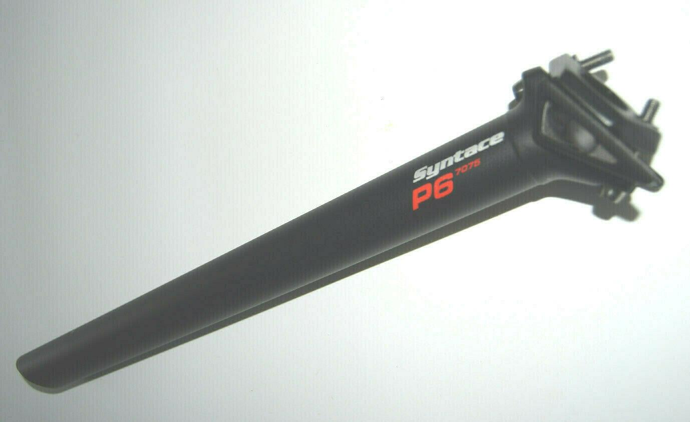 Syntace P6 Aluminium 7075 Sattelstütze 31,6mm 400mm