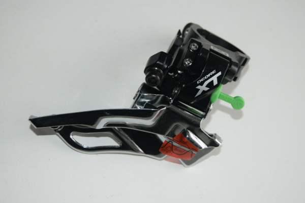 Shimano XT Umwerfer FD-M781 MTB Dynasys 3x10-fach Dual Pull schwarz 34,9mm