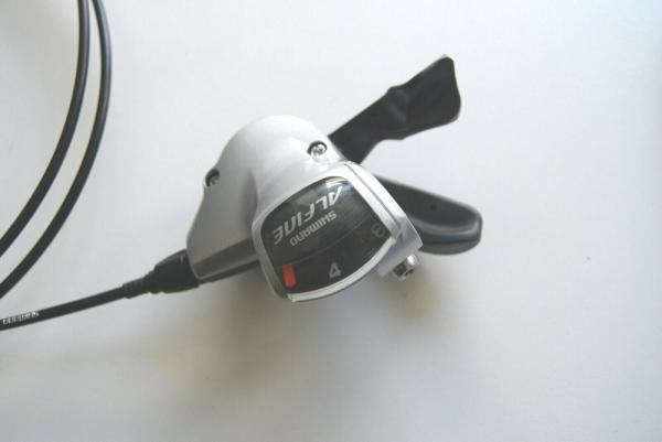Shimano Alfine Schalthebel 8-fach Rapidfire rechts SL-S503 silber ca.1700 mm