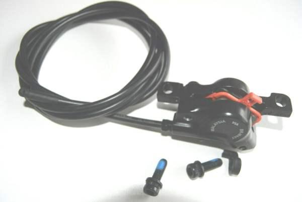 Shimano BR-M447 Bremskolben mit Belägen ca. 1750mm Leitungslänge