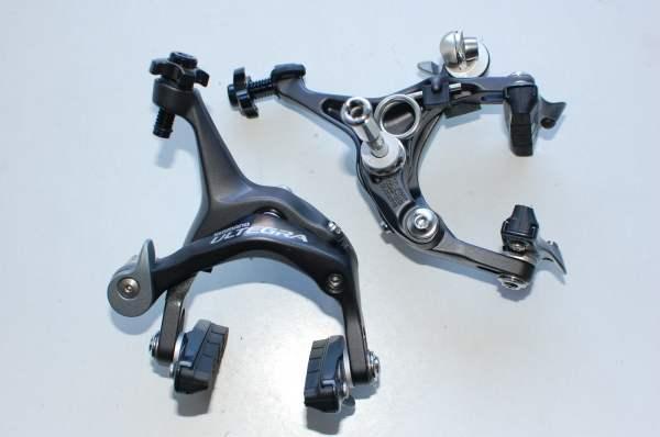 Shimano Ultegra BR-6700 Bremsensatz glossy grey wie Bild