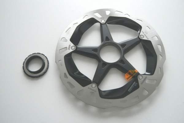 Shimano XTR RT-MT900 Center-Lock Bremsscheibe 180 mm
