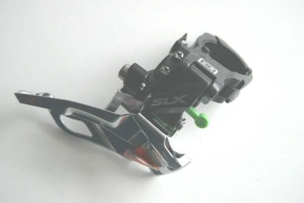 Shimano SLX 3x10 Umwerfer FD-M671 Down-Swing Dual Pull 66-69° 34,9/31,8mm