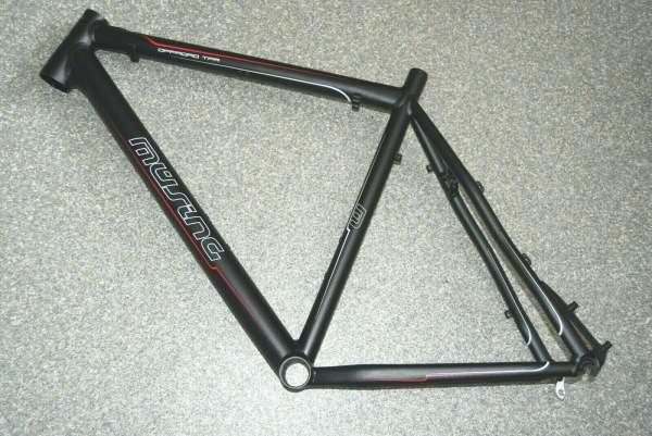 Müsing Offroad TPR Rahmen 56cm schwarz anodisiert