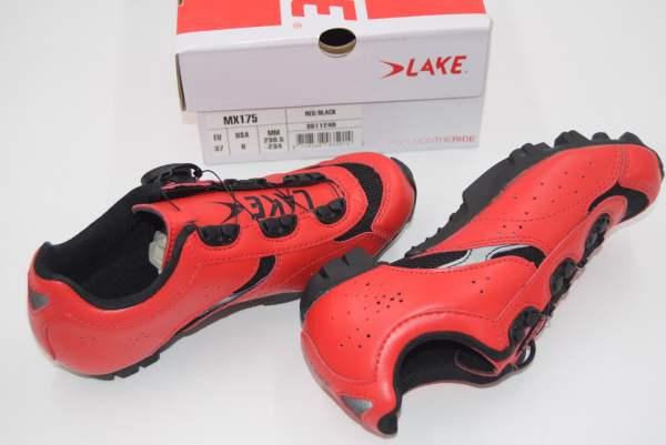 Lake MX175 Herren MTB Schuhe rot Größe 37, 39 oder 41