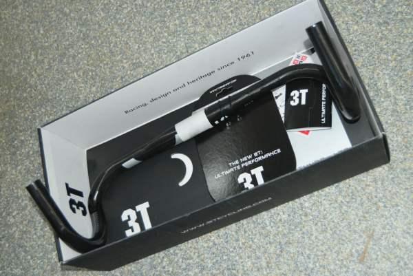 3T Lenker Rotundo LTD Ø31.8mm 440mm - Schwarz/Silber