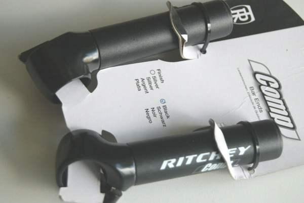 Ritchey Comp Bar Ends 100mm bb / wet black Lenkerhörnchen