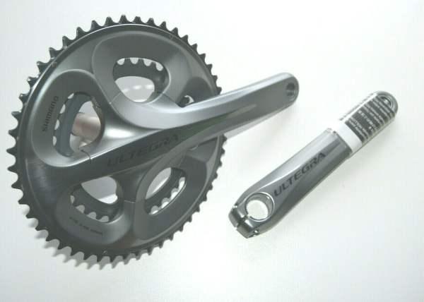 Shimano Ultegra FC-6750 silber Kurbelgarnitur Compact 172,5mm 50-34Z