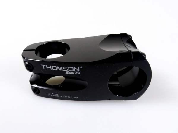 Elite Thomson Elite X4 Trail Vorbau 31,8mm 60mm 0° - schwarz