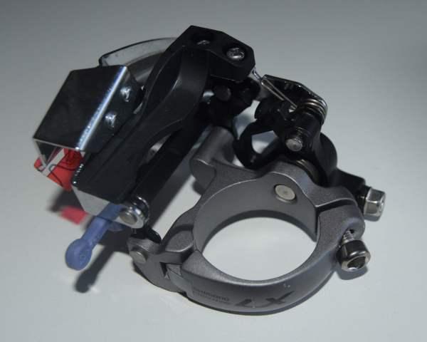 Shimano XT Trekking Umwerfer FD-T670 L6 Top-Swing Dual Pull 66-69°