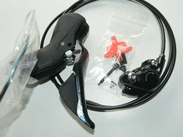 Shimano 105 ST-R7020 STI Brems-/Schalthebel RECHTE Seite mit BR-R7070 Disc